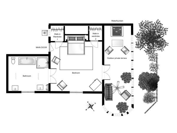 Espace suite Isadora