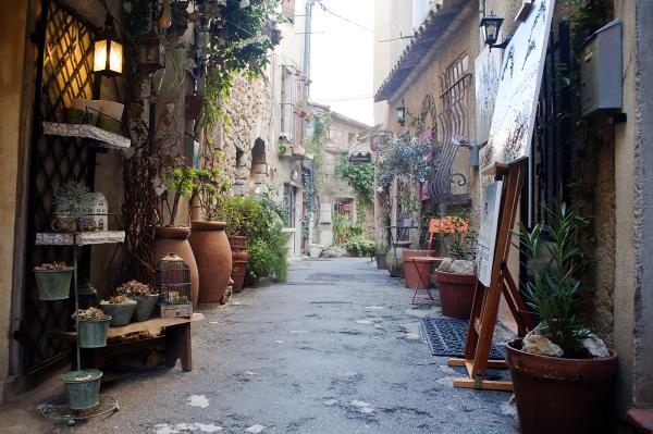 Village back alley