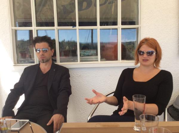 Diego Fontanive and Jessica Schab