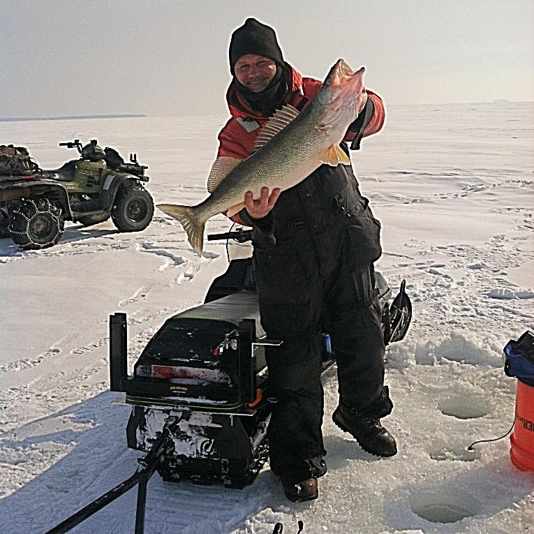 Capt John on the ice