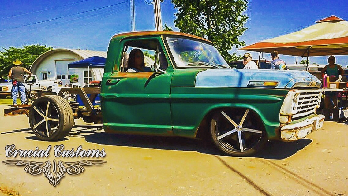 CCR 1967 F100 Build (Oscar)