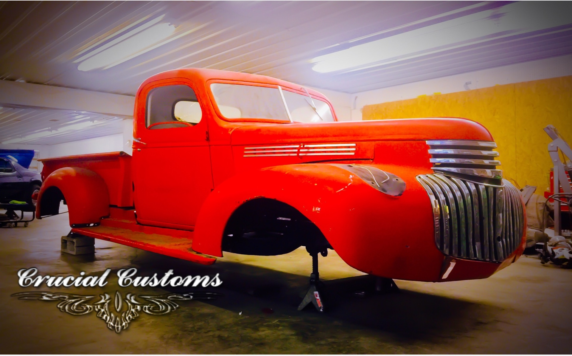 CCR 1946 Chevy 3100 Build