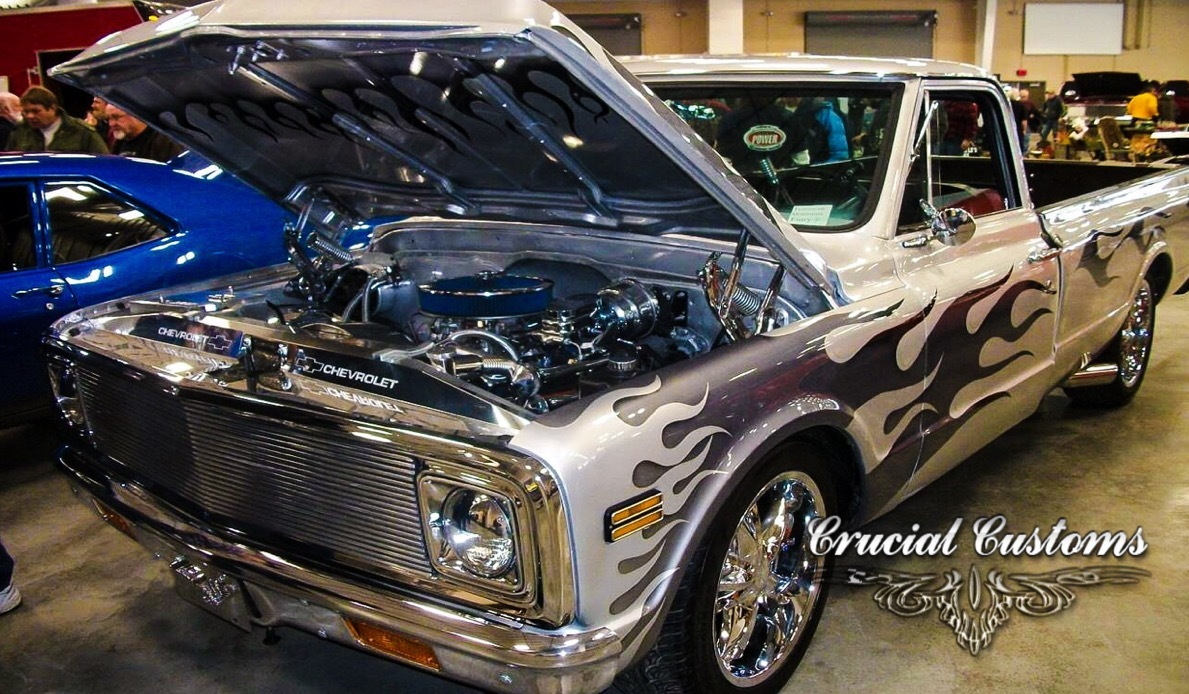 Custom Painted 1972 C10