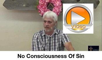 No Consciousness Of Sin