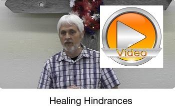 Healing Hindrances?!