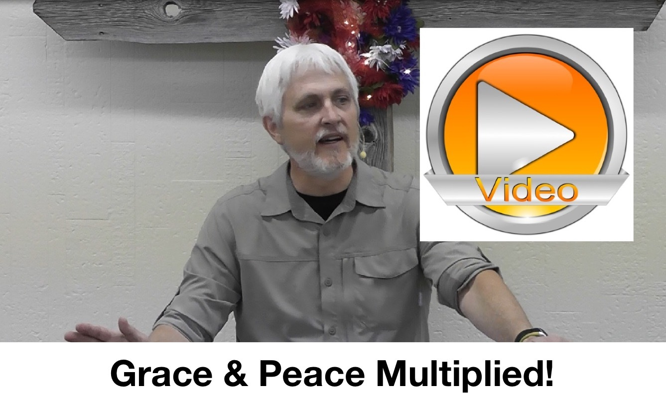 Grace and Peace Multiplied!