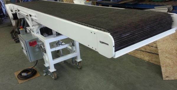 Wire Mesh Belt Conveyor