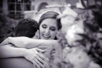 romantic happy touched wedding photo