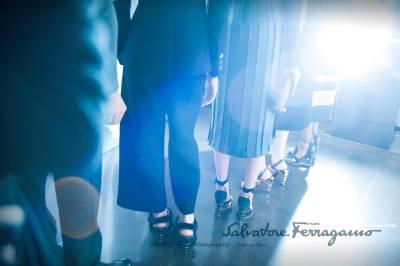 salvatore ferragamo fashion show in Macy's Dallas
