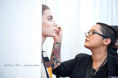salvatore ferragamo fashion show makeup artist in Macy's dallas