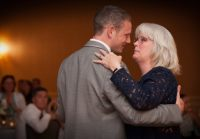 touching moment when groom dance with mother mom cry