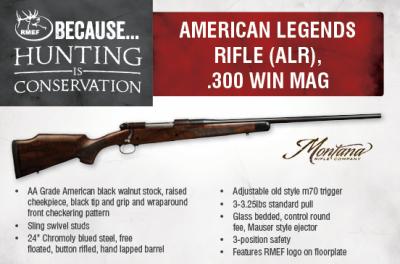 AMERICAN LEGENDS RIFLE .300