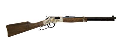 2018 Banquet Edition Rifle.  Henry Big Boy Silver.  .357 Mag