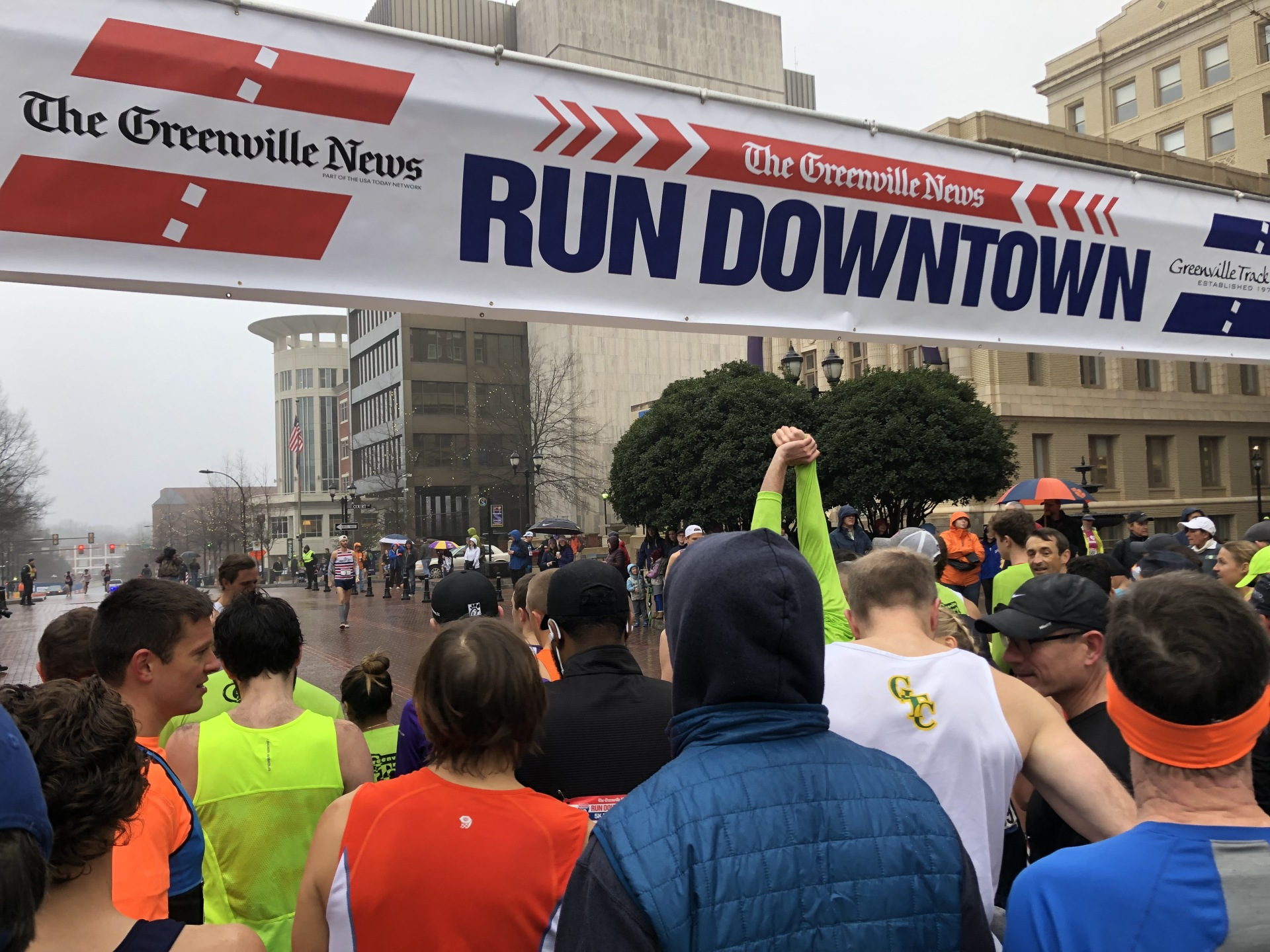 Life Lessons from the Greenville News Downtown 5k Road Race