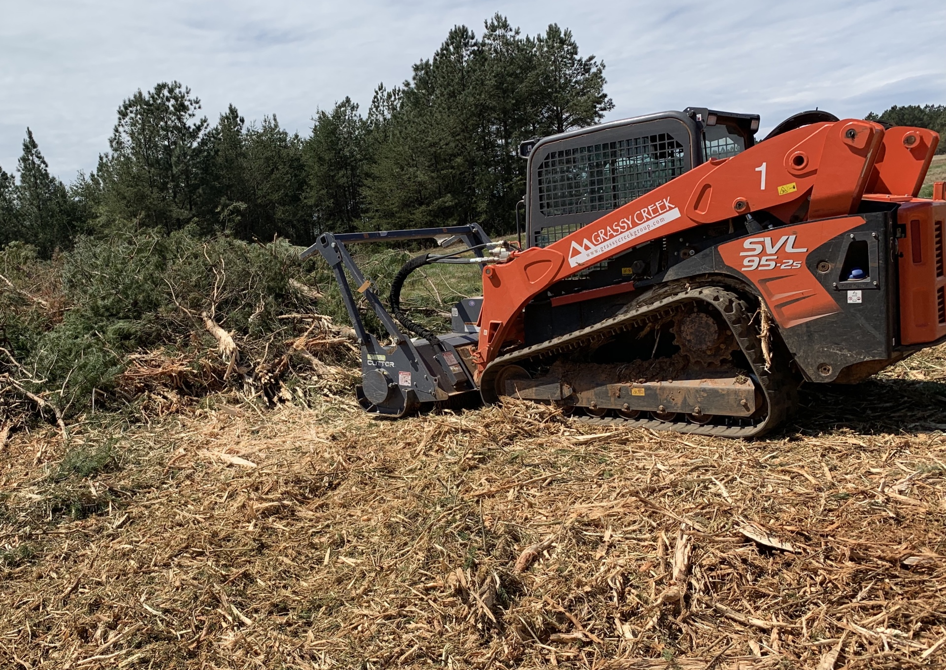Forestry Mulching Greenville