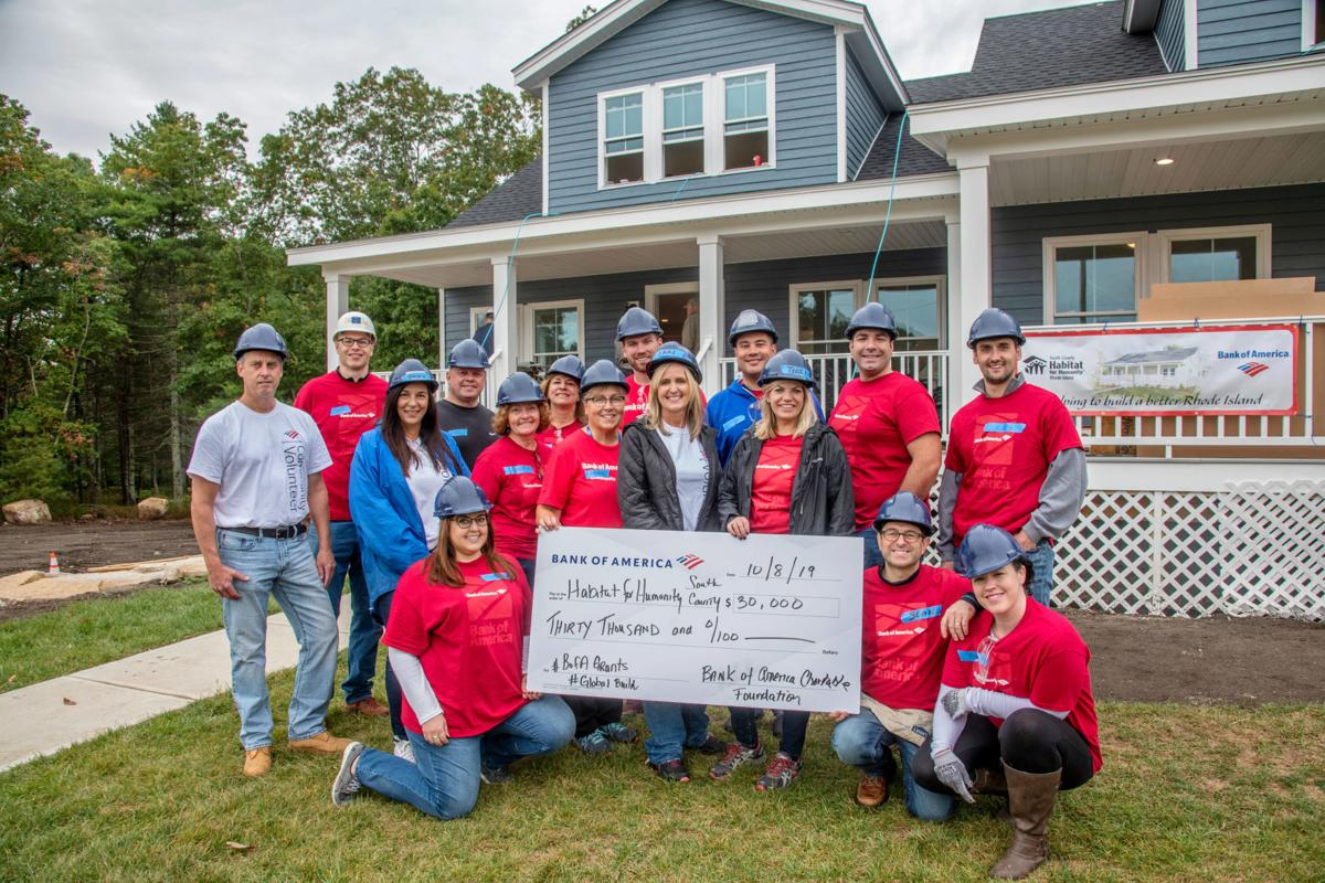 Bank of America awards $30K grant to South County Habitat