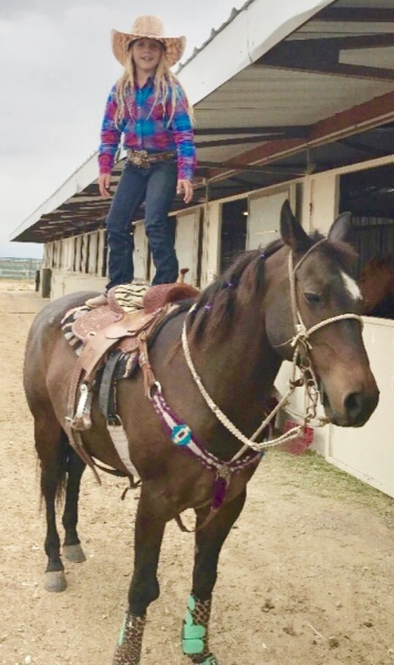 A little horsin' around