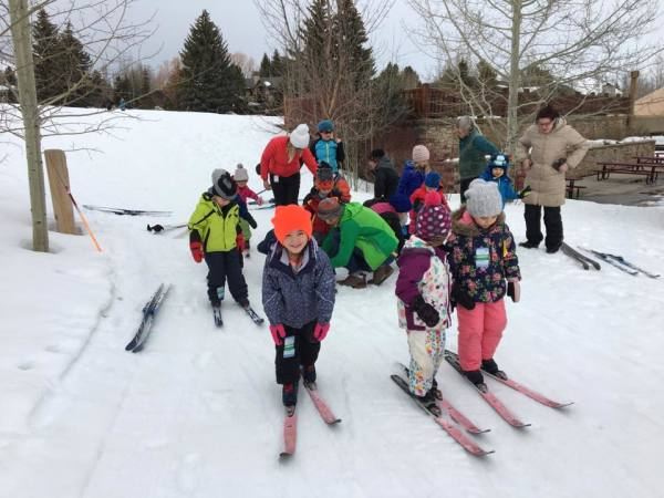 White Pine nordic skiing fieldtrip