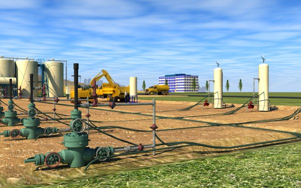 Gas and Oil Recovery Field, Schneider Electric