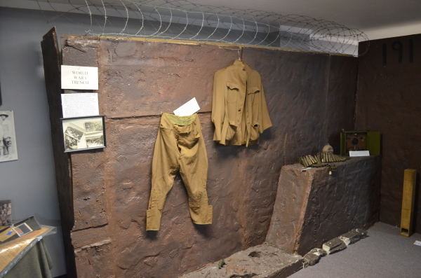 Experience a WWI Trench