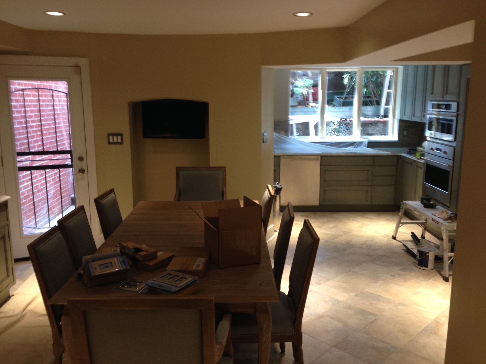 Completed Kitchen And Dining Room