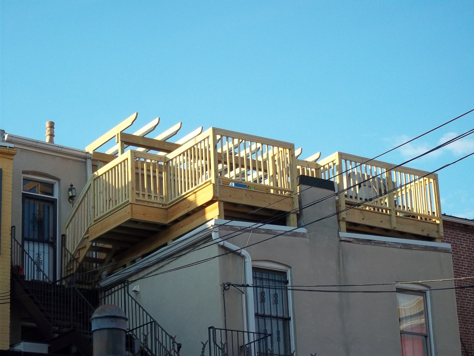 Completed Roof Deck