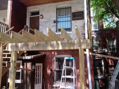 Deck In Progress