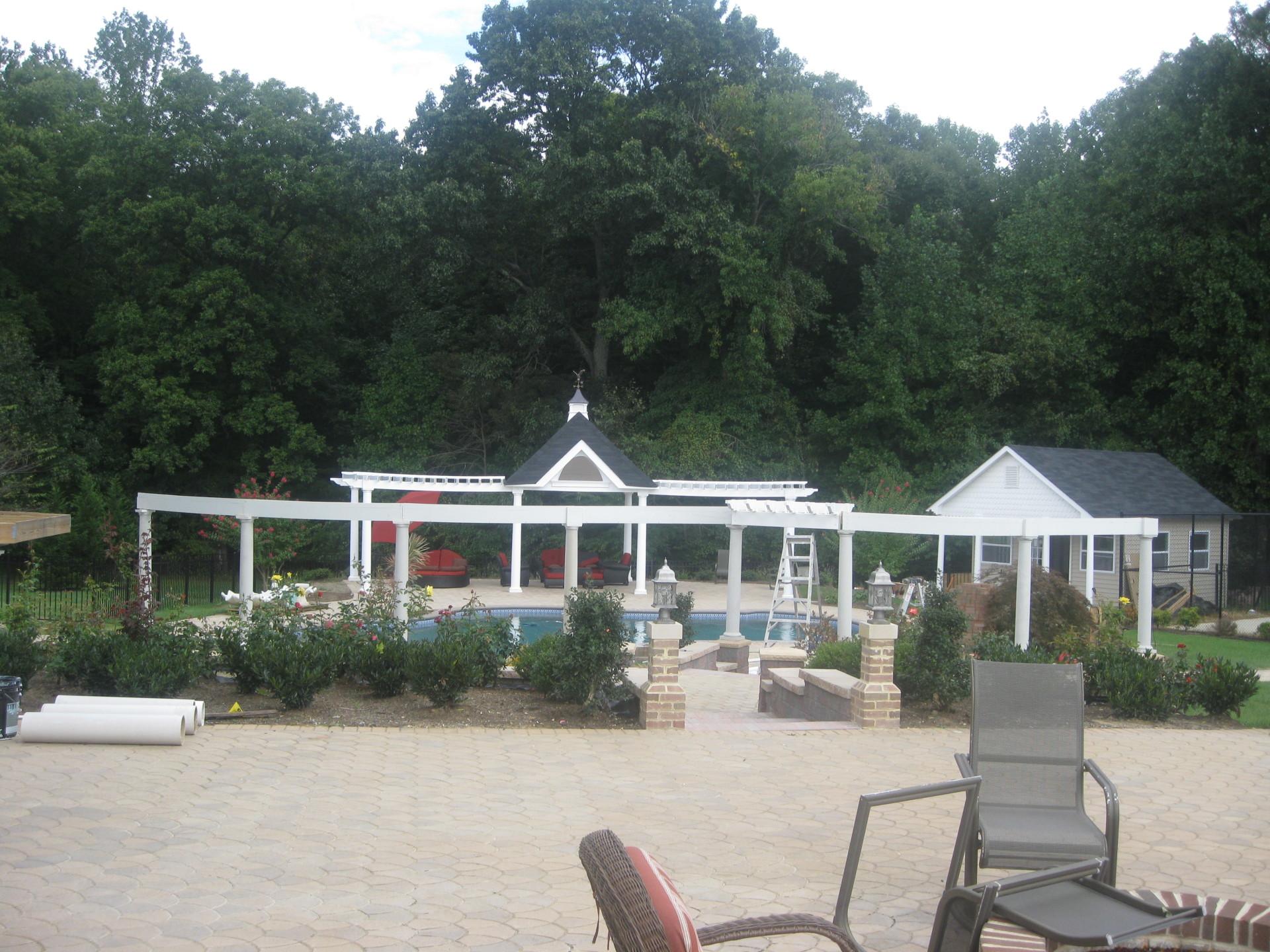 Gazebo, Pergola And Pool House