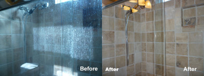 Glass Shower Doors Restored