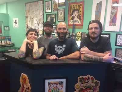 Best tattoo shop: House of Tattoo!