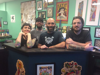 Best tattoo shop: House of Tattoo!
