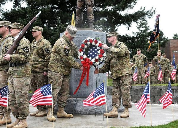JBLM memorials to SF, Rangers and more