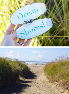 Ruffles and stuff: Our Trip to Ocean Shores!