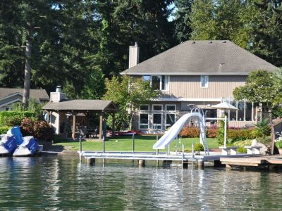 Renting waterfront homes on Lake Tapps
