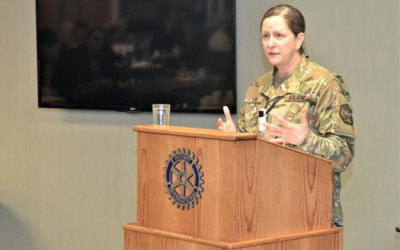JBLM commander speaks at Gig Harbor chamber