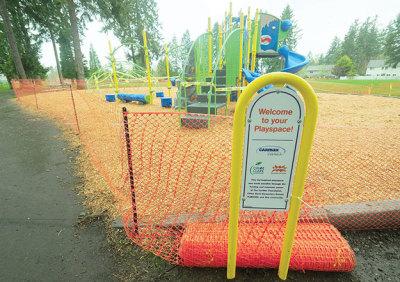 New playground for Chloe Clark