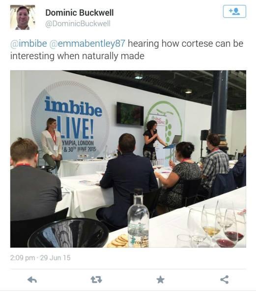 Speaking at Imbibe Live, London 2015