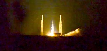 ZUMA Mission 01-07-18 Falcon 9