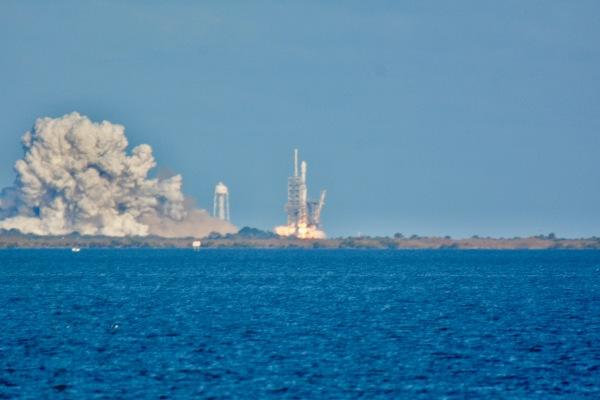 Falcon Heavy Inaugural Flight Feb 6, 20182