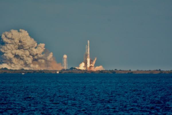 Falcon Heavy Inaugural Flight Feb 6, 2018
