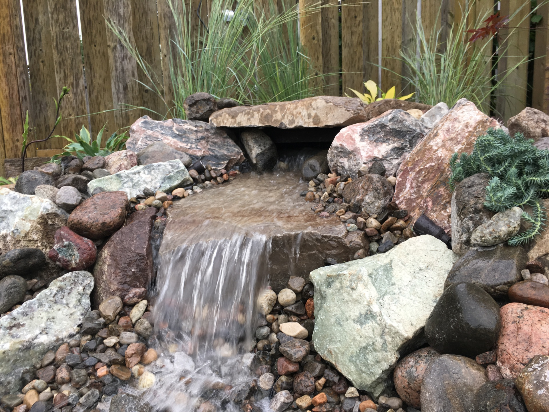 Small Low-Maintenance Water Feature