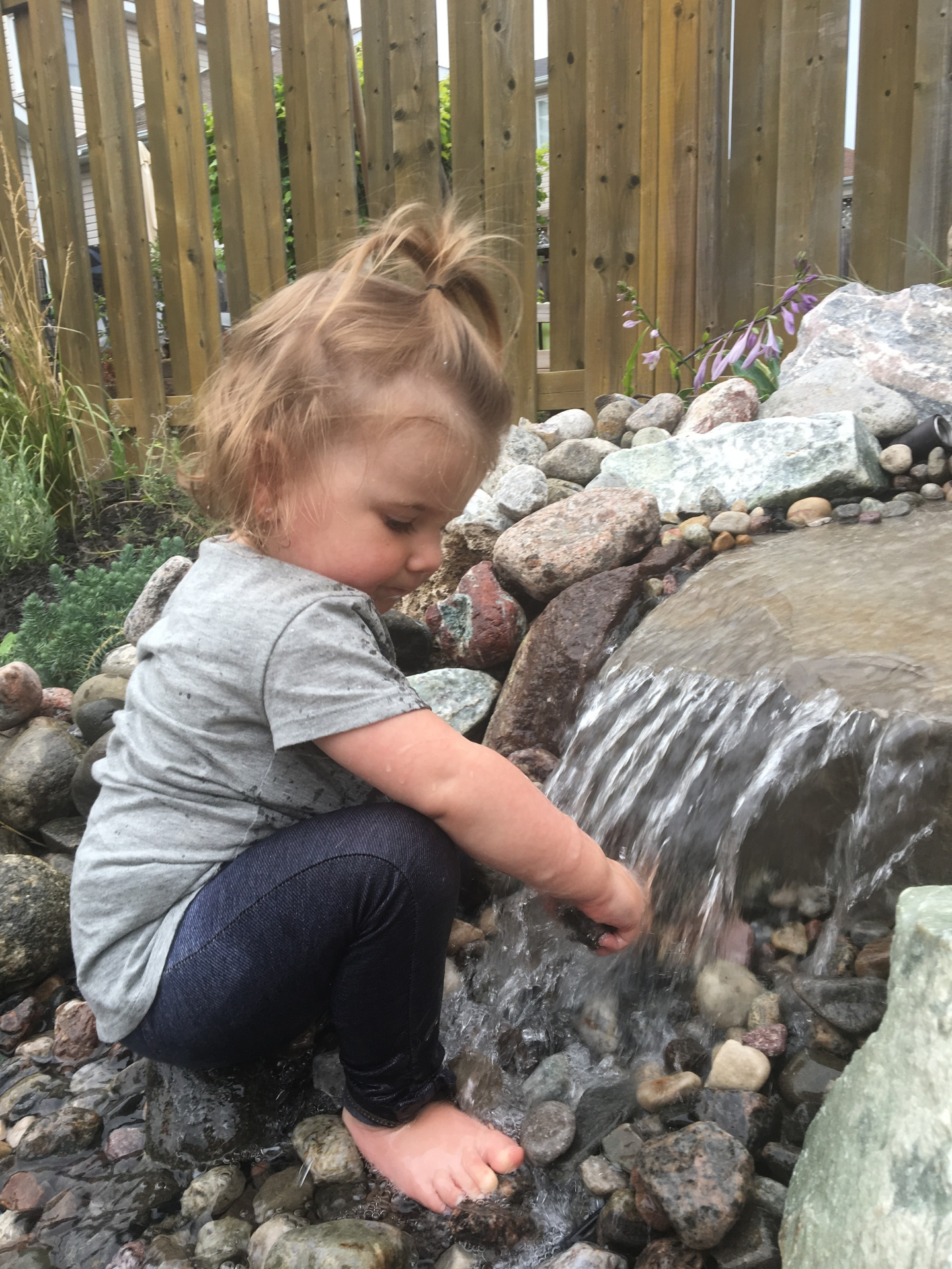 Children and Water Features