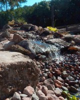 water feature, ponds, waterfalls, streams, hardscaping, garden design