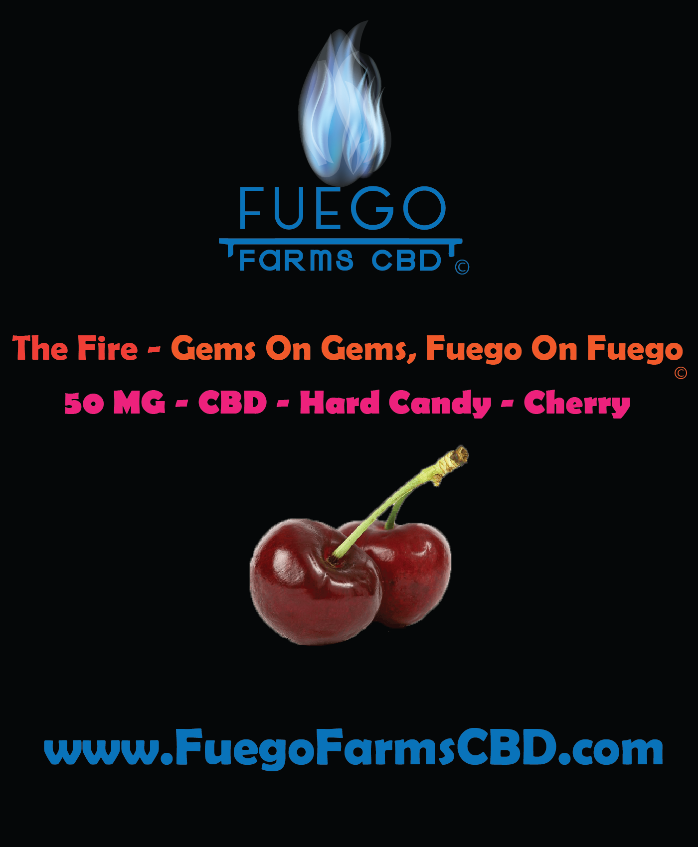 50 MG - Hard Candy - Gemmy Gems - The Fire - Gems on Gems, Fuego on