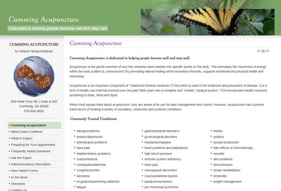 Cumming Acupuncture