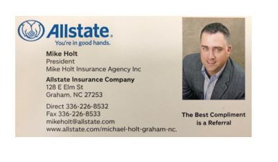 Michael Holt, Allstate Insurance Agent