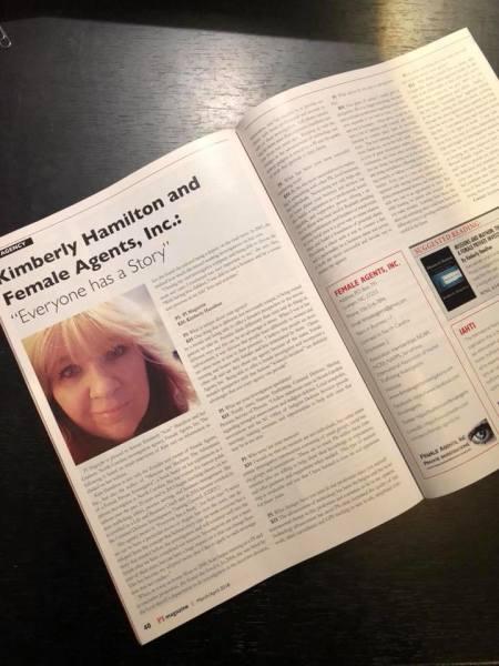 Female Agents, Inc featured in PI Magazine