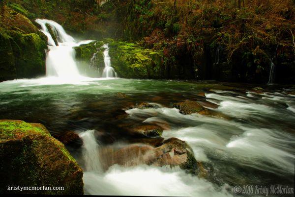 Sweet Creek Falls, Mapleton, Oregon