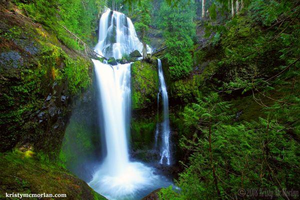 Falls Creek Falls, Washington State