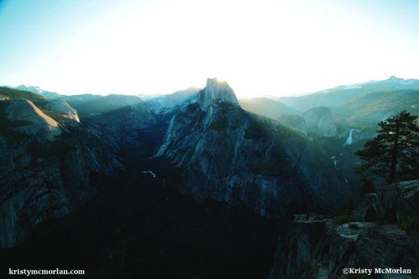 Half Dome, Glacier Point, Yosemite National Park